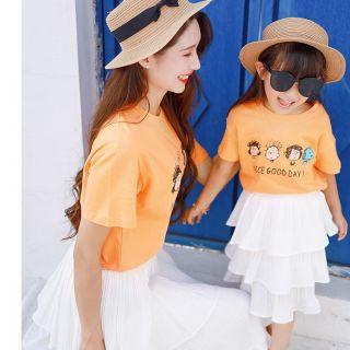 Áo mẹ và bé 💥FREESHIP💥 Áo phông mẹ bé hàng thiết kế [áo đôi mẹ và bé]