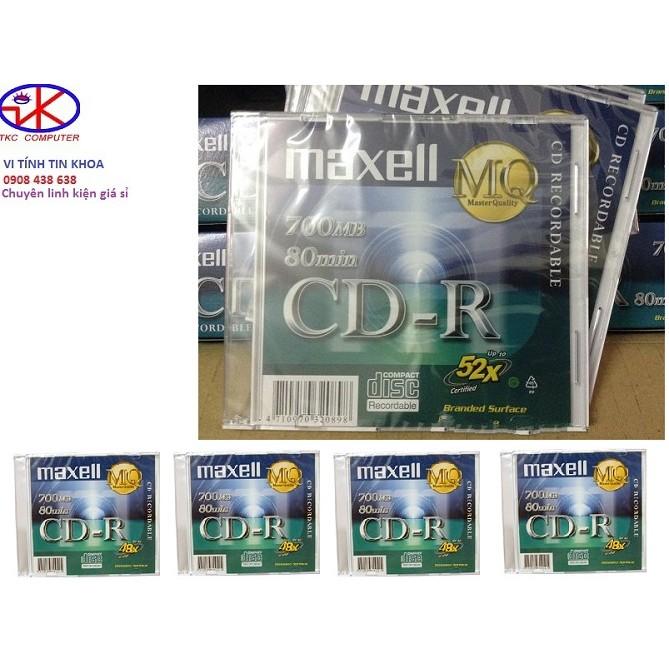 Đĩa trắng CD-R MAXELL.