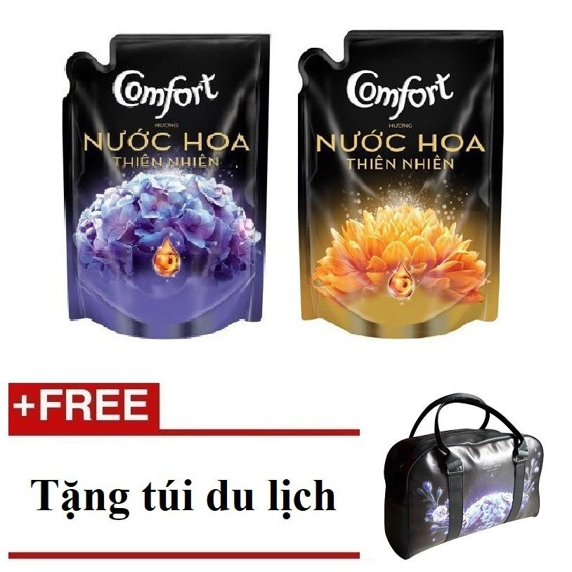 [QUÀ] Bộ 2 túi nước xả Comfort nước hoa TN Bella+Sofia 1,6L+(MSP 67068562 + 67068535)+Tặng 1 túi du
