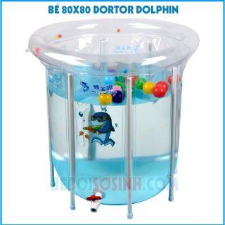 Bể bơi thành cao trong suốt cho bé – Chính hãng Doctor Dolphin