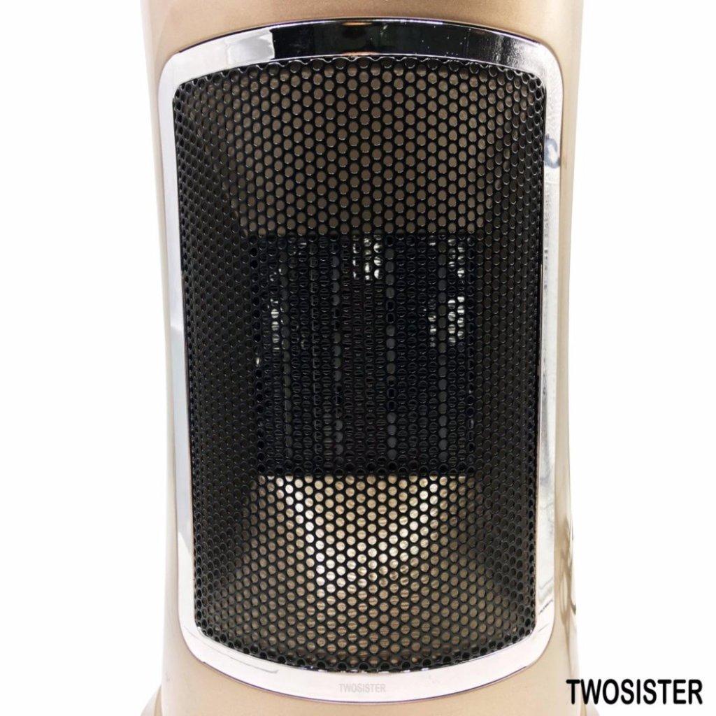 Refrigerator Washing machine Twosister ฮีทเตอร์2in1คลาสสิกเรียบหรูดูดี สามารถเป่าลมร้อนและลมธรรมดาได้efrigerator Washing