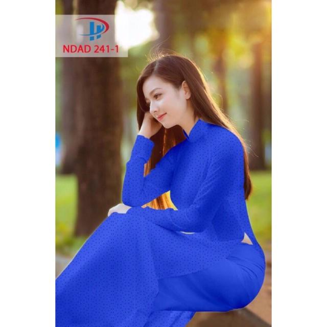 Vải áo dài chấm bi - 3137557 , 493169797 , 322_493169797 , 220000 , Vai-ao-dai-cham-bi-322_493169797 , shopee.vn , Vải áo dài chấm bi
