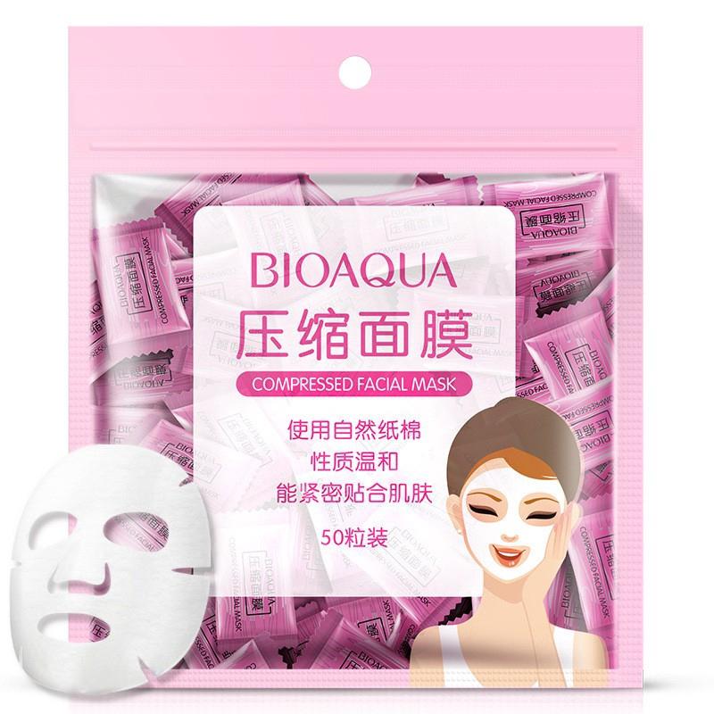 Set 50 mặt nạ Bioaqua dưỡng da chất lượng cao dễ sử dụng