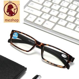 🍒ME🍒 Vision Care Presbyopic Glasses High-definition PC Frames Reading Glasses Portable Anti Blue Light Ultralight Unisex Eyeglasses