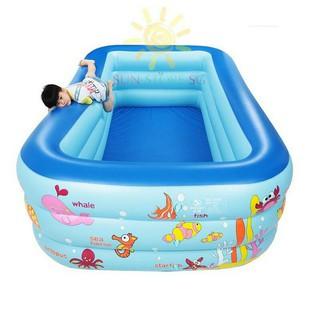 Bể bơi 3 tầng cho bé 1m5