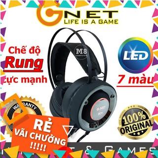 [RẺ VÔ ĐỊCH] Tai nghe Gaming G-Net H7S – Có đèn led, Dùng được cho điện thoại – BH 12 tháng [CHẤT]
