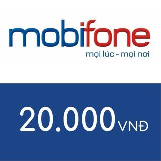 Hình ảnh Mobifone 20.000-0