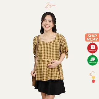 Áo bầu MONO chất vải kate cao cấp cho cảm giác mát, thoải mái khi mặc được thiết kể bởi LAMME thumbnail
