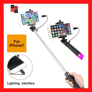 Gậy Chụp Hình iPhone 7, 8, X, XS Cổng Lightning