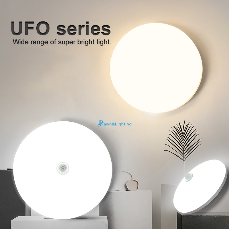 Đèn Led Gắn Trần Trang Trí Cảm Biến Chuyển Động 220v 110v