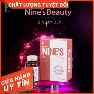 Viên Uống Trắng Da Nine's_Beauty _Phiên Bản Mới
