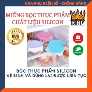 Miếng silicon bọc thức ăn , thực phẩm rửa sạch và dùng lại được mãi mãi Hàng độc và Hot thumbnail