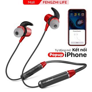 Tai nghe bluetooth FENGZHI BR101 đeo cổ thể thao popup cho iPhone Samsung OPPO VIVO HUAWEI XIAOMI tai nghe không dây thumbnail