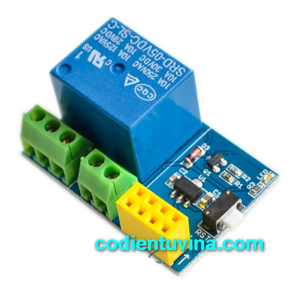 Module Điều Khiển Qua Wifi ESP8266 - 01