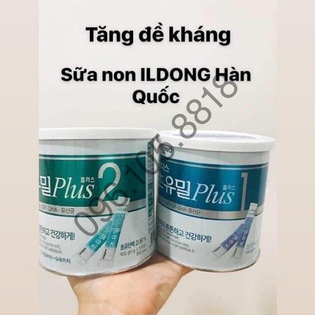 [DUY NHẤT HÔM NAY] [SALE LỚN] Sữa non ILDONG PLUS hàn quốc số 1, Hộp 100 gói*1gr - 22675230 , 5306502685 , 322_5306502685 , 350000 , DUY-NHAT-HOM-NAY-SALE-LON-Sua-non-ILDONG-PLUS-han-quoc-so-1-Hop-100-goi1gr-322_5306502685 , shopee.vn , [DUY NHẤT HÔM NAY] [SALE LỚN] Sữa non ILDONG PLUS hàn quốc số 1, Hộp 100 gói*1gr