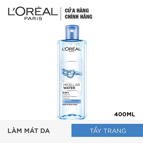 Hình ảnh Nước tẩy trang L'Oreal Paris 3-in-1 Micellar Water 400ml-2