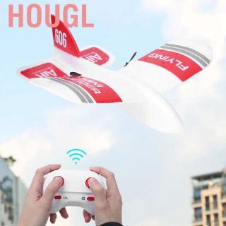 Hougl 2020 Hot KF606 2.4Ghz 2CH EPP Mini Indoor RC Glider Airplane Builtin Gyro RTF❤SU