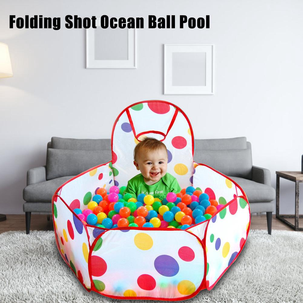 25pcs Kids Ocean Balls Pit Pool Play Tent Toys Child Playpen Game House Funny Toy
