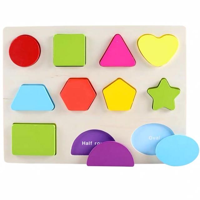 Bảng chữ cái, chữ số và hình học cho bé