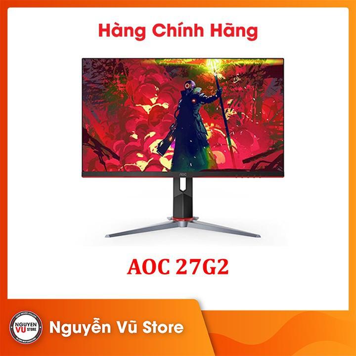 """Màn hình Gaming AOC 27G2 27"""" IPS 144Hz Gsync - Hàng Chính Hãng"""
