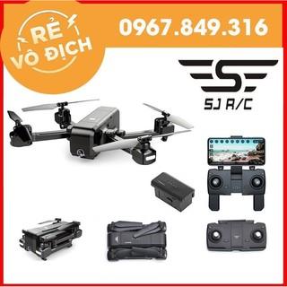 [GIÁ HỦY DIỆT] Máy Bay Flycam SJRC Z5 Camera Xoay 90 Độ, FHD 1080p Cánh Gập Nhỏ Gọn,Tự Giữ Vị Trí