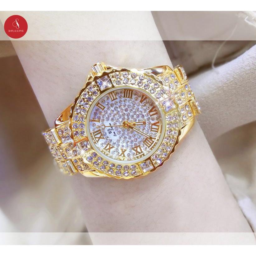 Đồng hồ nữ BS đính đá dành cho thánh nữ sành điệu