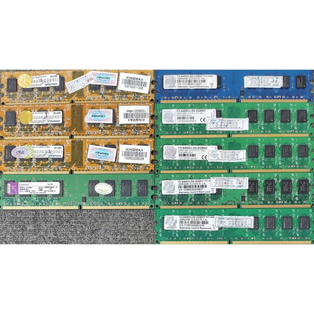 RAM DDR2 DDR3 2Gb 4Gb 8Gb chính hãng cho máy bàn
