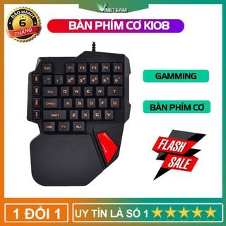 CHÍNH HÃNG Bàn Phím Cơ Bàn Phím Xinmeng k108 Dành Cho Game Thủ - Đèn LED -dc3054 thumbnail