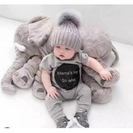 Gối ôm hình voi cho bé