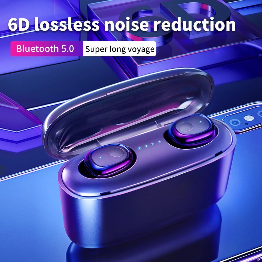 Tai Nghe Bluetooth 5.0 6d 2000mah Cho Iphone Xiaomi