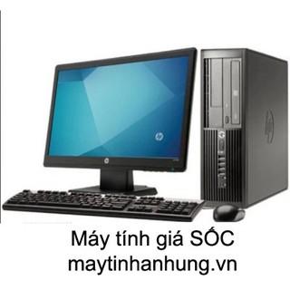 Bộ máy tính đồng bộ dùng ổ SSD siêu nhanh nhập khẩu bán số lượng cho các dự án văn phòng làm việc, trường học