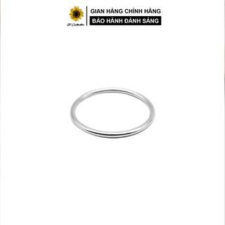 Nhẫn bạc 21 Centimeters Simple Trang sức bạc Tiệm bạc 21 Centimeters