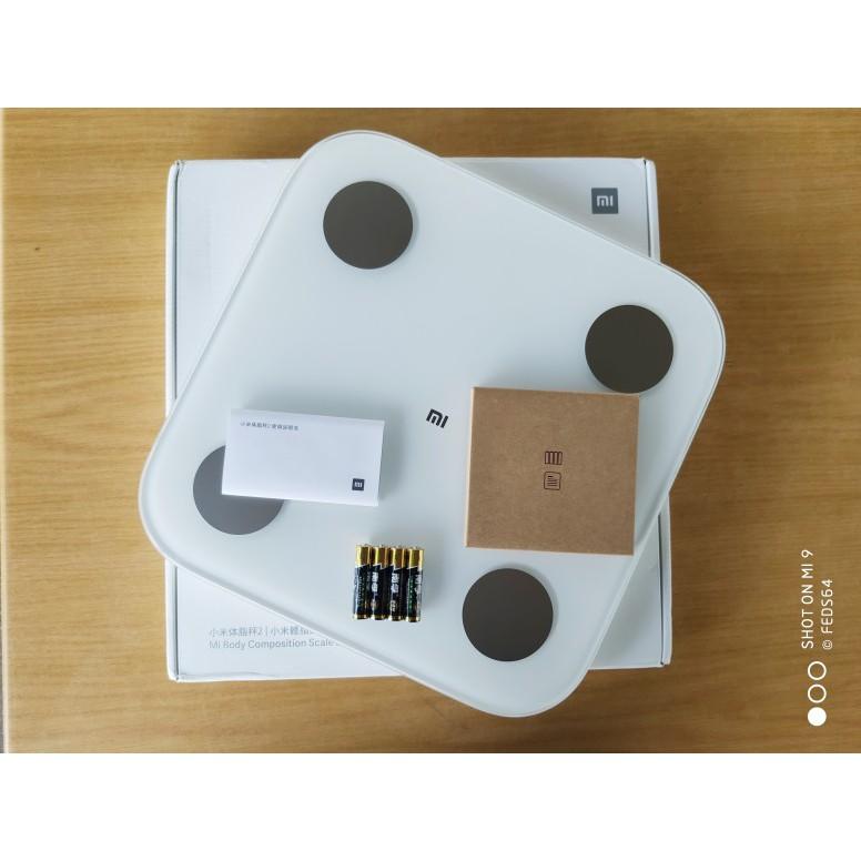 Cân điện tử XIAOMI Mi body fat weigt tester 2