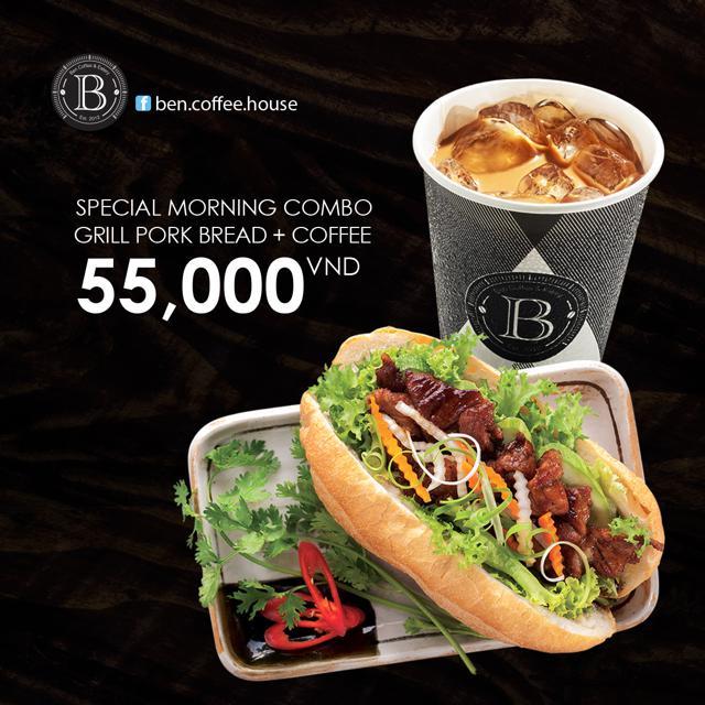 HCM [Voucher] Combo ăn sáng gồm bánh mì + cafe sữa/cafe đá tại BEN Coffee House - 3360242 , 1270974313 , 322_1270974313 , 55000 , HCM-Voucher-Combo-an-sang-gom-banh-mi-cafe-sua-cafe-da-tai-BEN-Coffee-House-322_1270974313 , shopee.vn , HCM [Voucher] Combo ăn sáng gồm bánh mì + cafe sữa/cafe đá tại BEN Coffee House