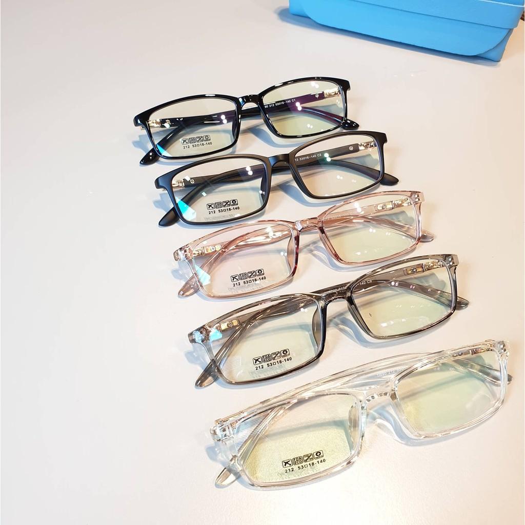 Cắt kính mắt cận-loạn Gọng kính mắt vuông cận 212