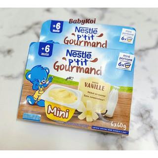 Váng sữa Nestle vỉ 6 hộp x 60G cho bé từ 6 tháng (date 08 2021) thumbnail