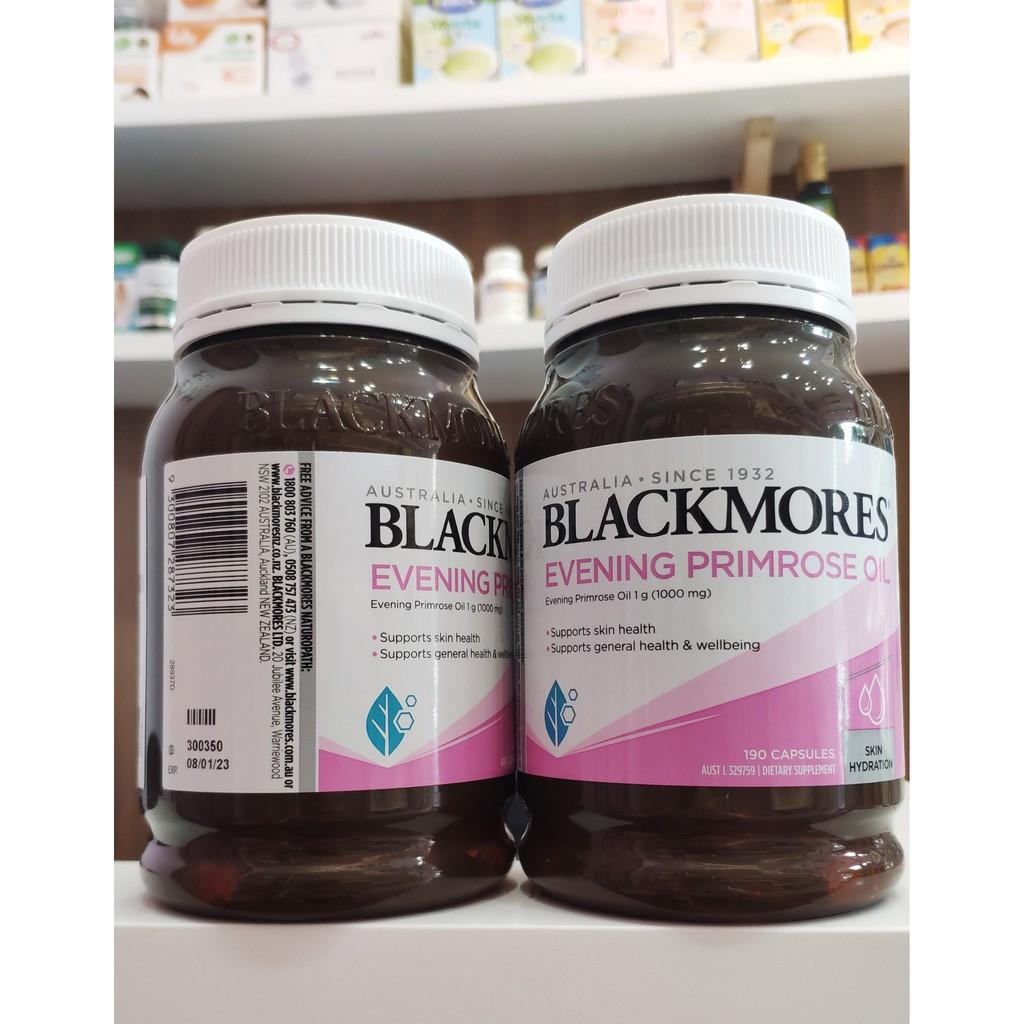 Viên uống Tinh Dầu Hoa Anh Thảo Blackmores 190 Viên - Mẫu