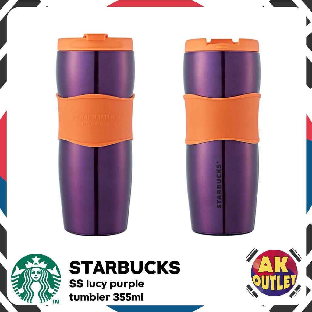 【 STARBUCKS 】 SS lucy purple tumbler 355ml
