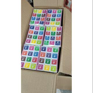 Mực in dấu vân tay 10 hộp 12 màu giá sỉ
