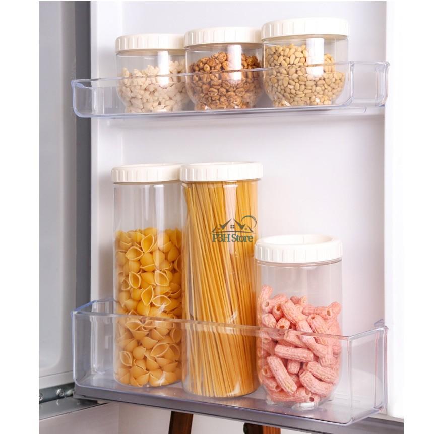 Hộp nhựa bảo quản thực phẩm Lock&Lock Interlock dung tích 500ml đến 1.6L INL301 INL302 INL303
