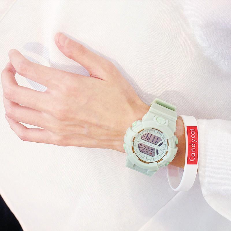 Đồng hồ nam nữ thể thao Unisex Aosun dây cao su cực bền DH107