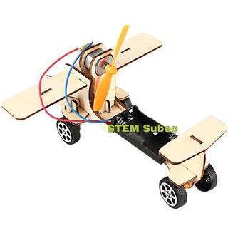 DIY, STEM Đồ chơi máy bay tự lắp ráp cho bé