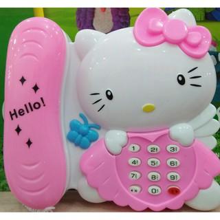 Đồ chơi điện thoại Hello Kitty Pin Nhạc