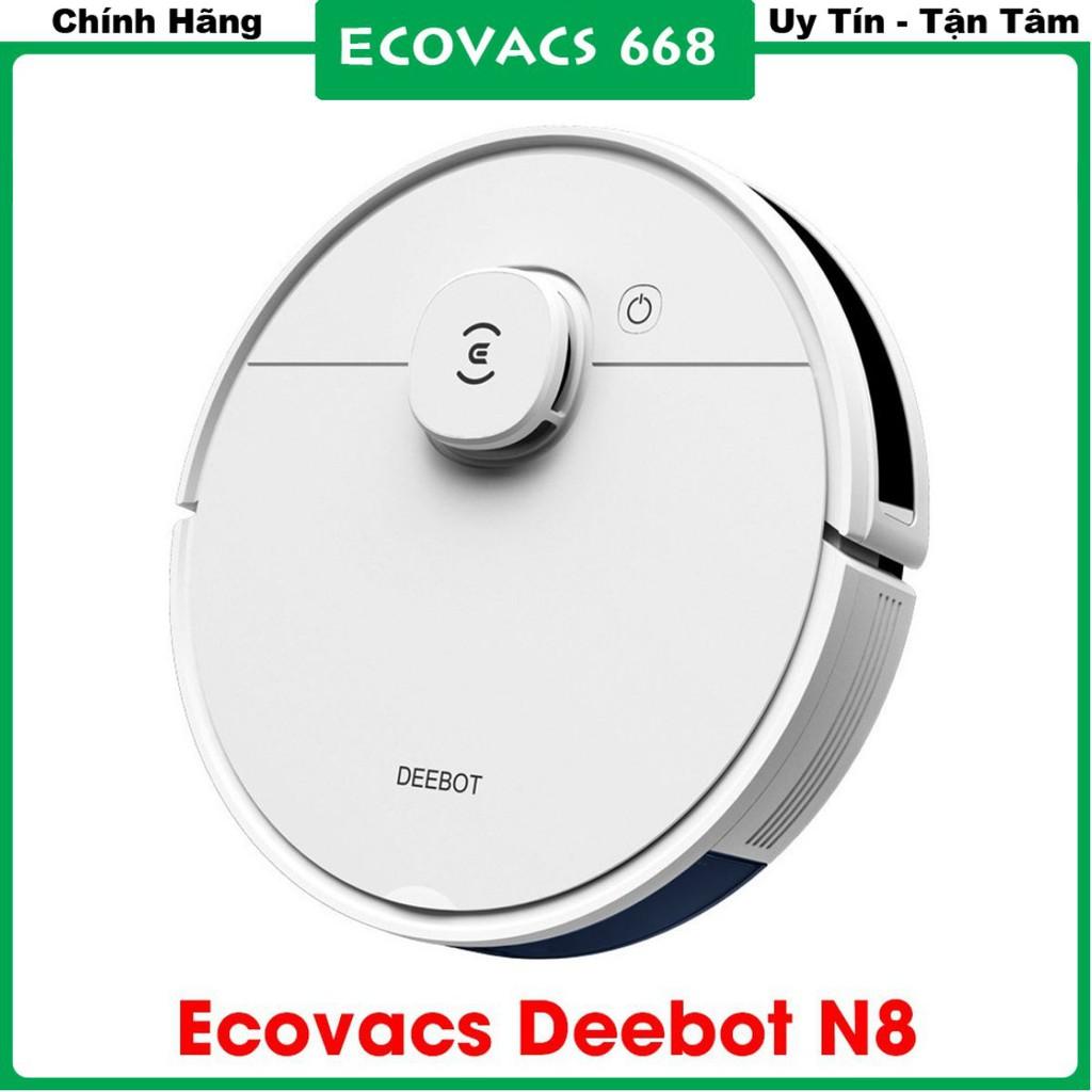 Robot hút bụi lau nhà Ecovacs Deebot N8_Hàng chính hãng Ecovacs_Hàng mới nguyên seal 100% Ra mắt năm 2020