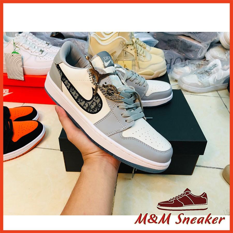 Giày Thể Thao Jordann Air Di.or Low Nam Nữ Phối màu siêu đẹp