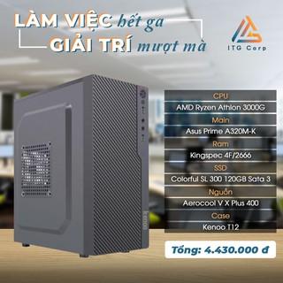 Máy Tính Văn Phòng AMD Ryzen Athlon 3000G - RAM 4G - SSD 120G thumbnail