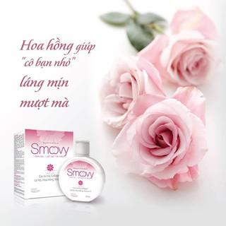 Dung dịch vệ sinh phụ nữ Smoovy giúp nuôi dưỡng và trẻ hoá da vùng kín 4