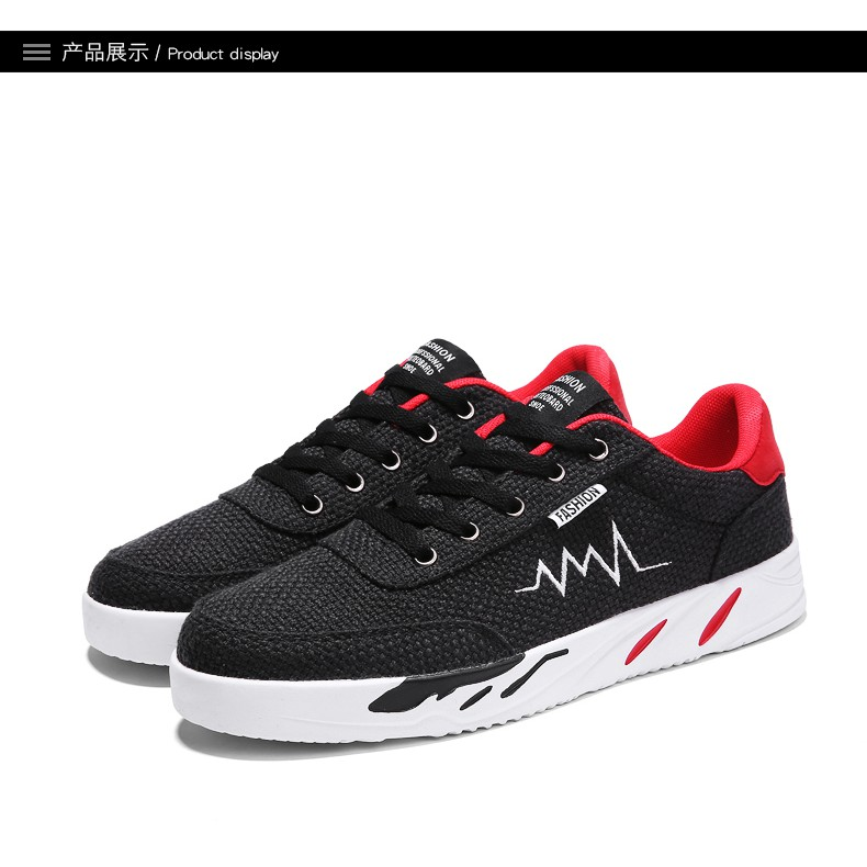 Giày sneaker nam vải lưới Quảng Châu
