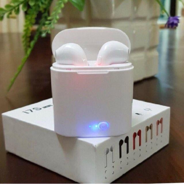 Tai Nghe Bluetooth 2 Tai  I7S