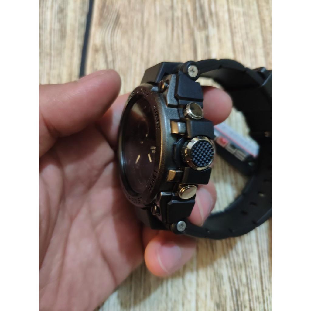FREESHIP_ Đồng hồ thể thao nam SANDA dây khớp nhựa vòng cung SD02 -SHOP NGỌC HUYỀN